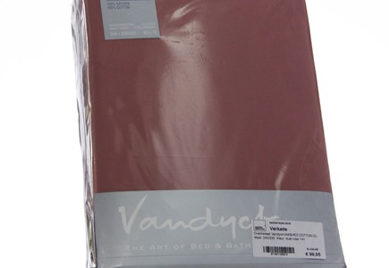 Dekbedovertrek Vandyck Washed Cotton Dusty Rose (1)