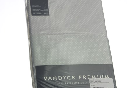 Dekbedovertrek Vandyck Purity 88 Coolgrey (1)
