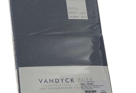 Dekbedovertrek Vandyck Pure 36 Night Blue