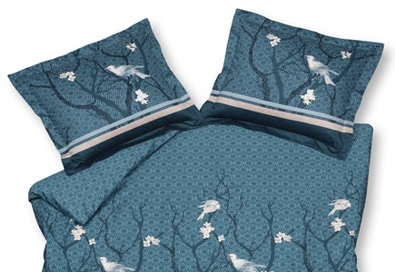 Vandyck Small Birds Parisian Blue