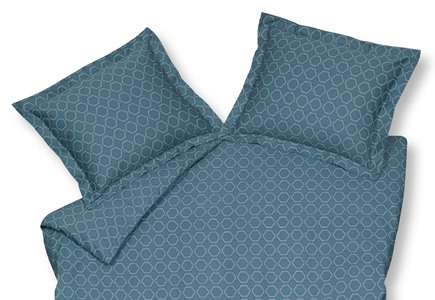 Vandyck Hexagon Parisian Blue