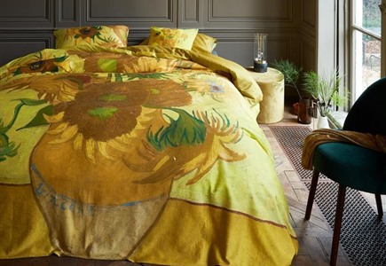 Beddinghouse van Gogh Tournesol Yellow